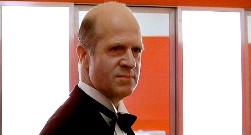 Grady (Philip Stone) in the 'red bathroom' scene in The Shining