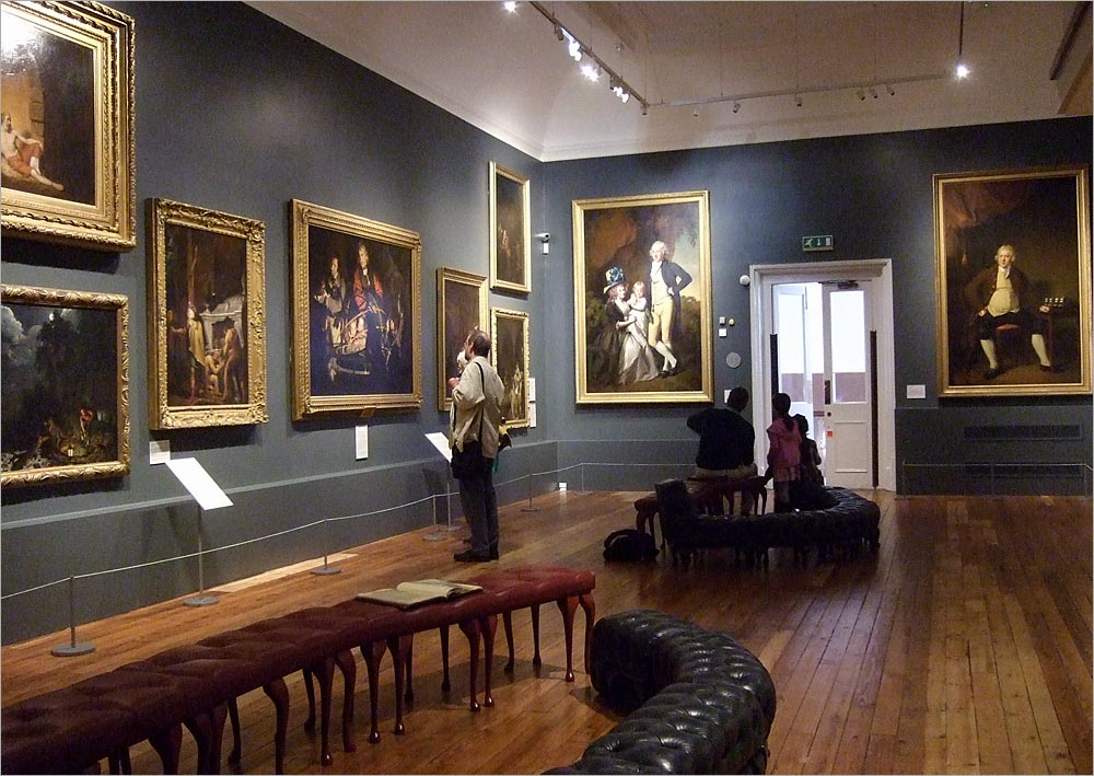 The Joseph Wright of Derby Gallery. Photo: Gordon Stainforth