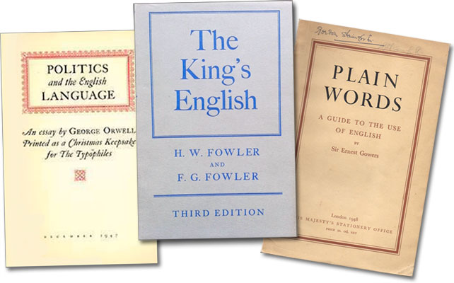 Orwell-Fowler-Gowers