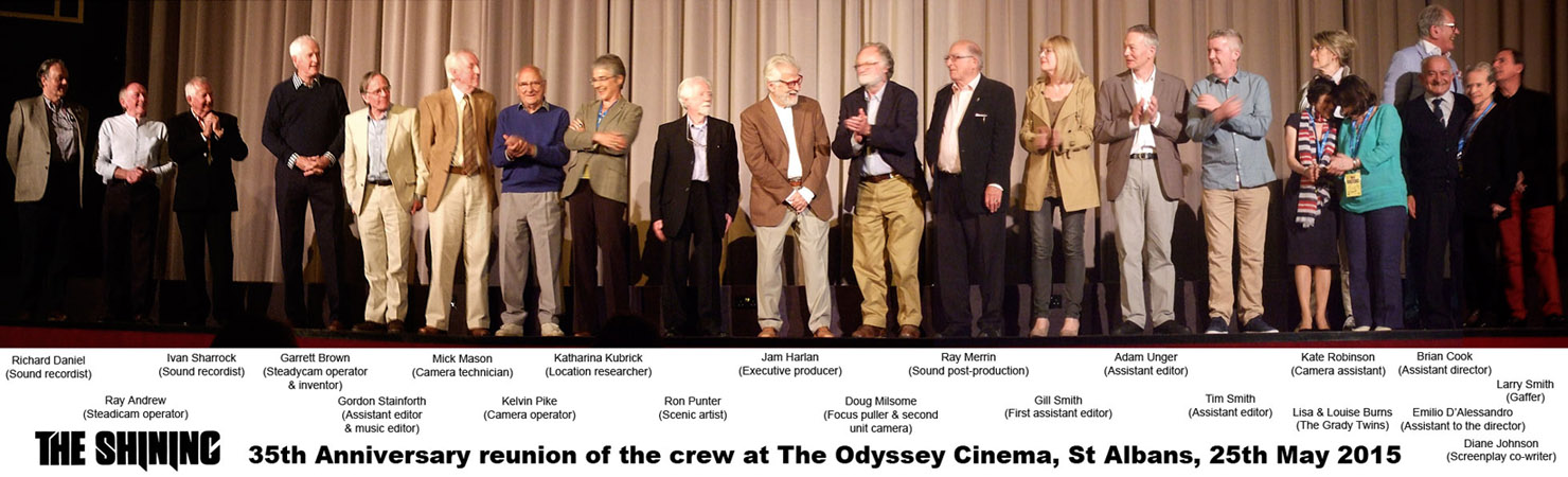 The Shining crew at The Odyssey Cinema, St Albans, 25 May 2015