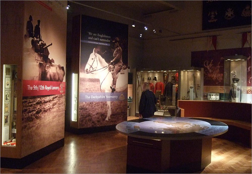 'The Soldier's Story' exhibition, Derby Museum. Photo: Gordon Stainforth