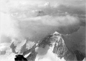 The Matterhorn from the summit of the Zinal Rothorn, August 1967. Photo: Gordon Stainforth