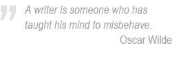 Oscar Wilde on writing