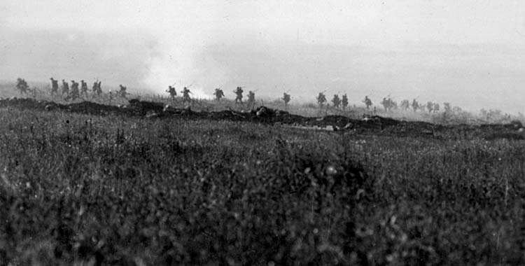 The morning of July 1, 1916