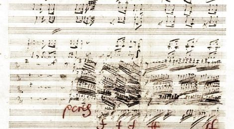 Choral Symphony, original score